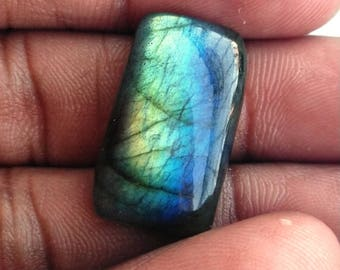 50% Off Christmas Offer Purple Labradorite Gemstone, Cabochon, shape rectangle, 17.50 ct, 21x12x6mm ,AM24