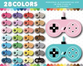 Gamer clipart, Controller clipart, Gaming clipart, Game night clipart, Gaming icon, Gaming graphics Clipart gaming Gaming controller CL-1593