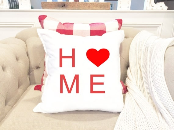 valentines day pillow cover home pillow heart pillow valentine pillow anniversary gift gift for her couples gift - Valentine Pillow
