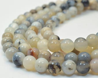 Natural Agate Gemstone Beads Round Beads 6mm Natural Stones Beads Healing chakra stones Jewelry Making Item# 789222065584