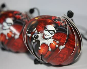 Harley Quinn Ornaments : Single or Set of 5