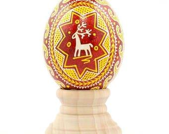 White-Tailed Deer Ukrainian Egg