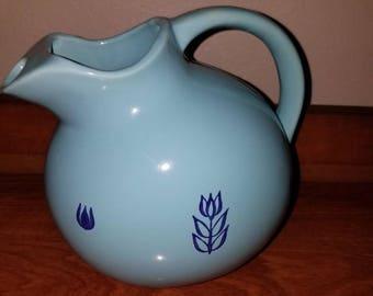Cronin Blue Tulip Pitcher