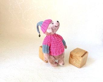 Collectible bear Teddy bear stuffed animals artist bear plush toys plush bear unique gift birthday gift