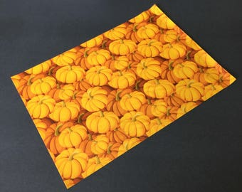 50 Designer PUMPKIN Poly Mailers 10x13 Envelopes Shipping Bags Fall Halloween