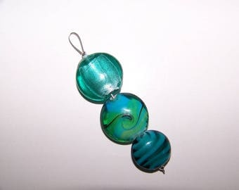 "Pendant ""pucks glass 5"""