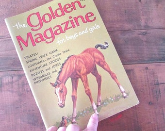 The Golden Magazine For Boys and Girls May 1965 Children's Magazine