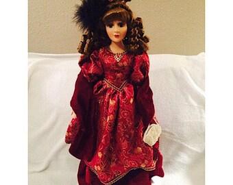 DanDee Collectors Choice Porcelain Doll