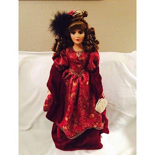 sale dandee collectors choice porcelain doll. Black Bedroom Furniture Sets. Home Design Ideas