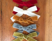 ruby bow headbands-SALE