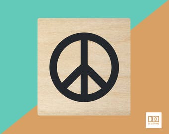 Peace - 1.5cm Rubber Stamp (DODRS0191)