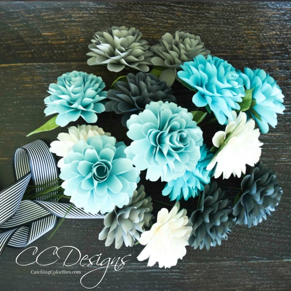 Paper flower templates diy paper flower dahlia pdf flower patterns il570xn mightylinksfo
