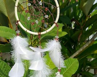 ON SALE~ Indiana Dreamcatcher, Boho Dreamcatcher, Shamanic Dreamcatcher, Native Dream Catcher.
