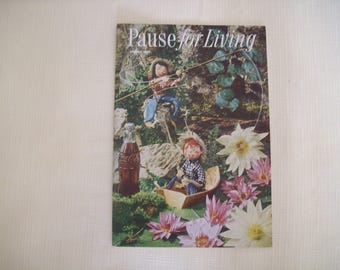 Pause For Living Magazine by Coca Cola Summer 1958. Paperback. Vintage.