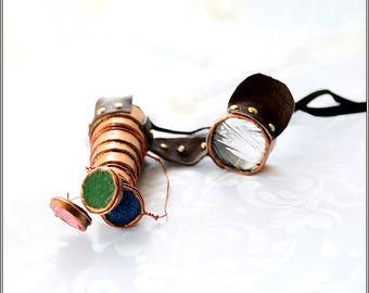 Steampunk style glasses