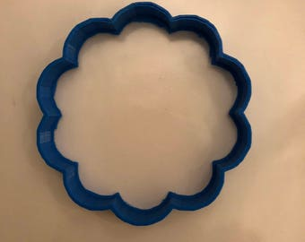 Flower Cookie Cutter, Fondant Cutter, Clay Cutter, Blossom flower cookie, Garden cookie cutter, Flower Birthday, Bubble Cookie cutter
