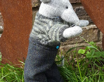 RESERVED..... Mervyn Mouse Textile Sculpture