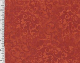 Flannel Per Yd - Essentials - Wilmington Prints - Burnt Orange