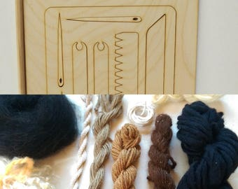 Naturals Weaving Kit, with/ without loom