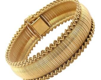 Bracelet souple en Or jaune 18K