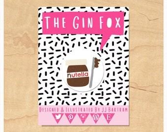 Nutella Badge • Nutella Lover Badge • Funny Nutella Gift • Nutella Love • 32mm Badge • Flair • Pin badge