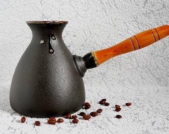Kitchen Gift|for|women Gift Handmade Coffee Maker Glazed Pottery Espresso  Maker Home Decor