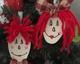 Raggedy Ann and Andy Spoons