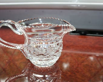 A Stunning Waterford Crystal Period Mastercutters Creamer Jug Superb Condition