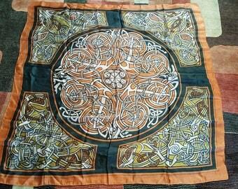 Celtic Silk Scarf