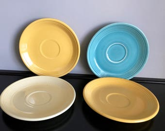 Vintage Fiestaware Saucers - Various Colors - 4 Available!