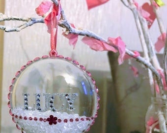 Christmas tree decoration- Any Name
