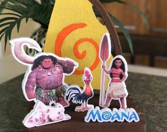 Moana Centerpieces