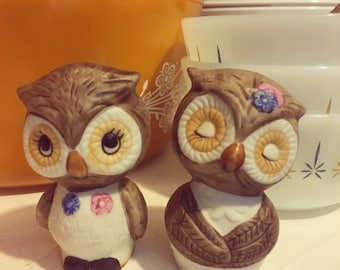 Sweet Owl Salt & Pepper Set