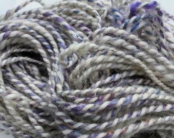 Cloud - Hand Spun, Hand Dyed Alpaca Yarn