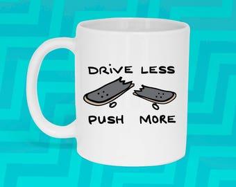 Drive Less Push More Mug (With Gift Box)