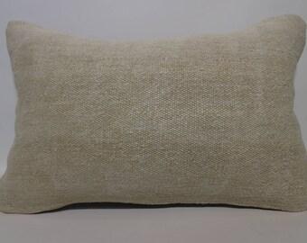 16x24 Decorative Kilim Pillow Sofa Pillow 16x24 Faded Kilim Pillow Throw Pillow Ethnic Pillow Handwoven Kilim Pillow  SP4060-1079