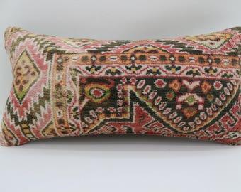 10x20 rug pillow multicolor rug pillow decorative cover pillow lumbar pillow ethnic pillow bedrrom pillow carpet pillow SP2550-1546