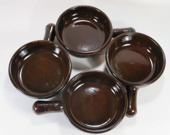 Beautiful brown Ceramic Soup Bowls, Chili Bowl, French Onion Soup, Family Entertaining, Kitchen Essentials, Dining and Serving