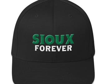 Sioux Forever Structured Twill FlexFit Cap with Puffed Logo