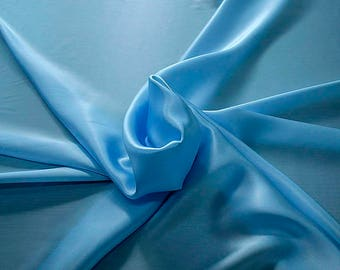 1712-150 - Crepe Satin silk 100%, width 135/140 cm, made in Italy, dry cleaning, weight 100 gr