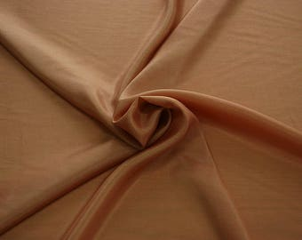 402043-taffeta natural silk 100%, width 110 cm, made in India, can be used liner, dry wash, weight 58 gr