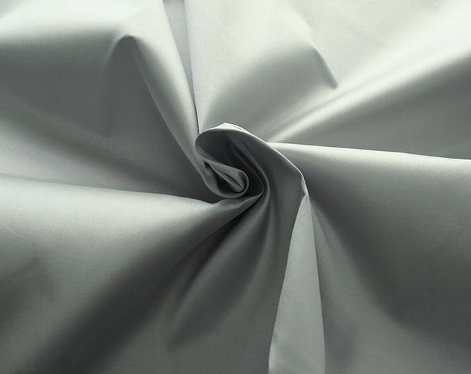 272181-natural Silk Mikado 100%, width 135/140 cm, made in Italy, dry cleaning, weight 190 gr