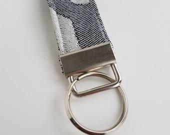 Wrap Scrap Key Fob - Pavo - Cheetah Noir - Wrap Scrap - Key Ring - Key Fob - Babywearing - Animal Print