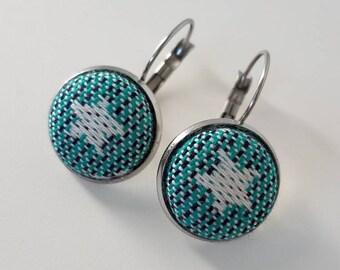 Wrap Scrap Jewelry - Earrings - BabyMonkey - Stardust Night - Wrap Scrap - Babywearing - Stainless Steel - Stars