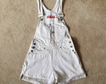 Unionbay, unionbay overalls, overall shorts, xs overalls, vintage overalls, 90s fashion, womens unionbay, womens overalls