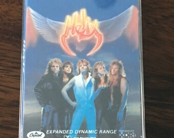Helix Long Way To Heaven Cassette Tape