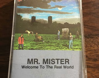 Mr. Mister Welcome To The Real World Cassette