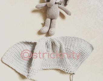 Newborn photo props set elephant, baby gift