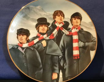 "The Beatles Collection ""Help"" Collector's Plate - NIB"