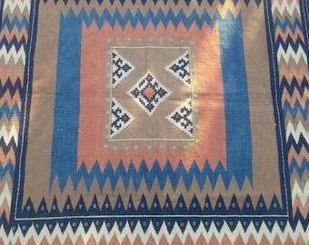 vintage turkish area rugsvintage rugs etsykilim rug etsy - Fuzzy Rugs